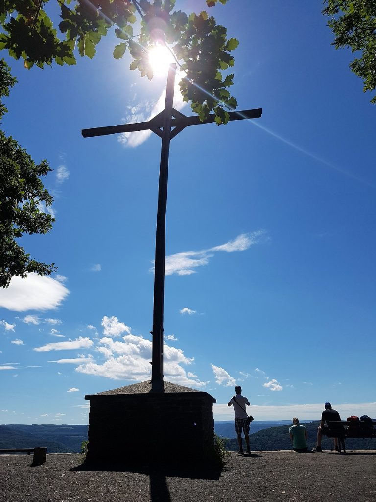 Gipfelkreuz Calmont